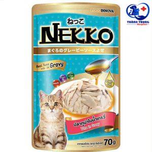 thức ăn pate cho mèo nekko cá ngừ