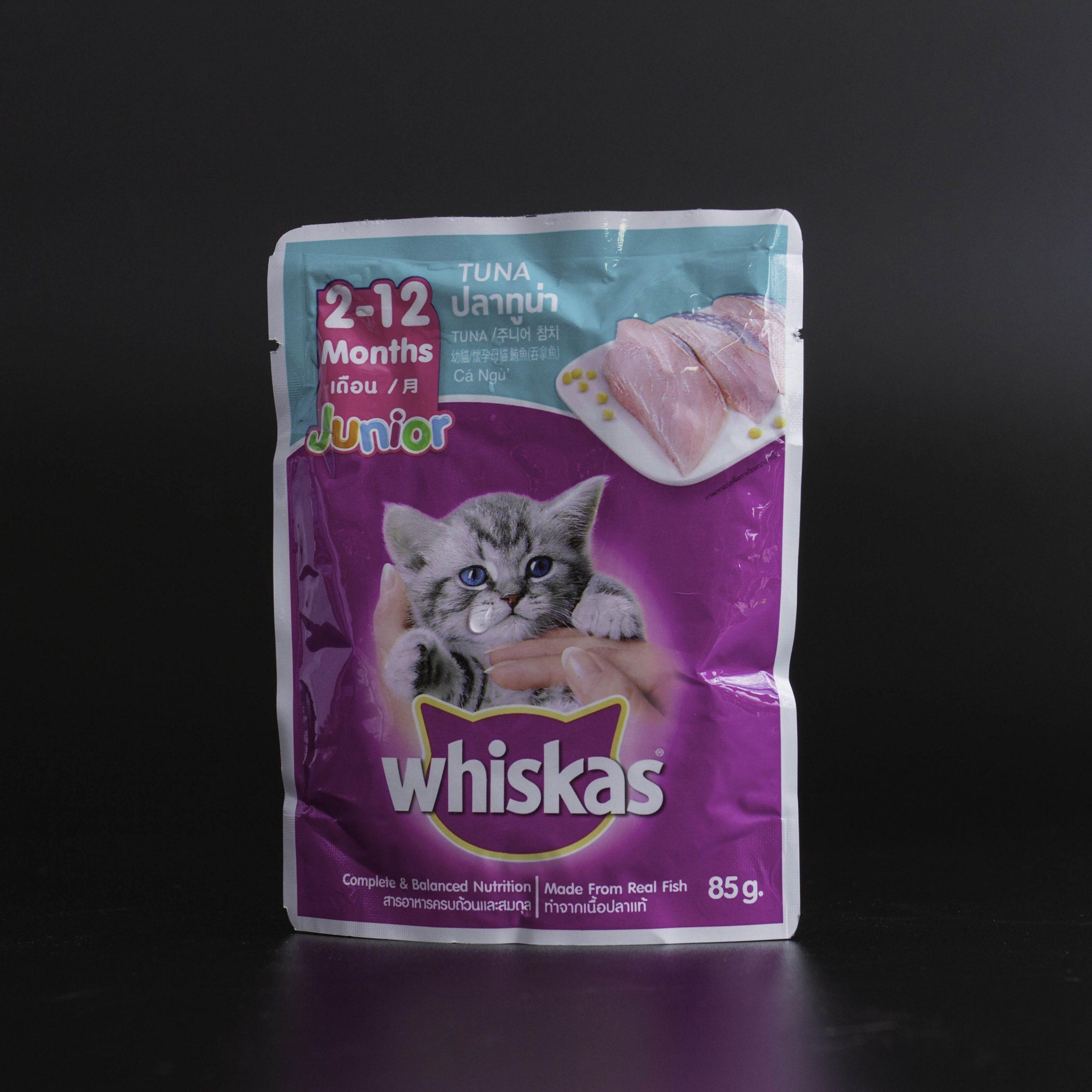 Thức ăn cho mèo Whiskas có tốt không? Mua ở đâu, giá bao nhiêu